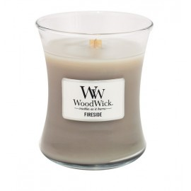 Bougie Woodwick  Fireside jarre 60H