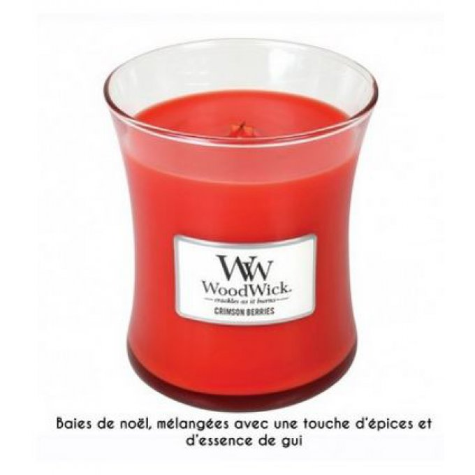 Bougie Crimson Berries 60h
