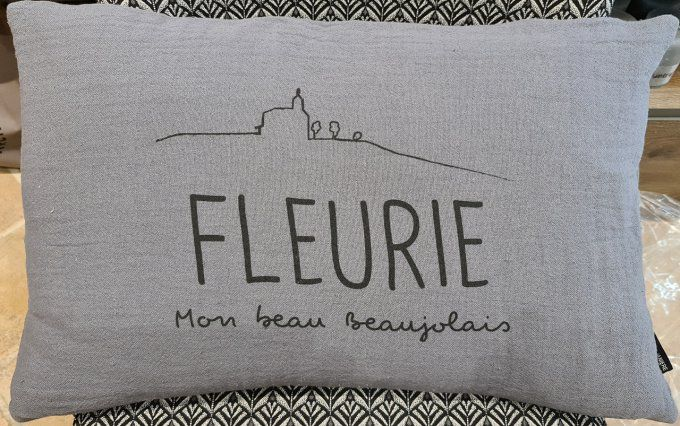 Coussin Fleurie rectangulaire
