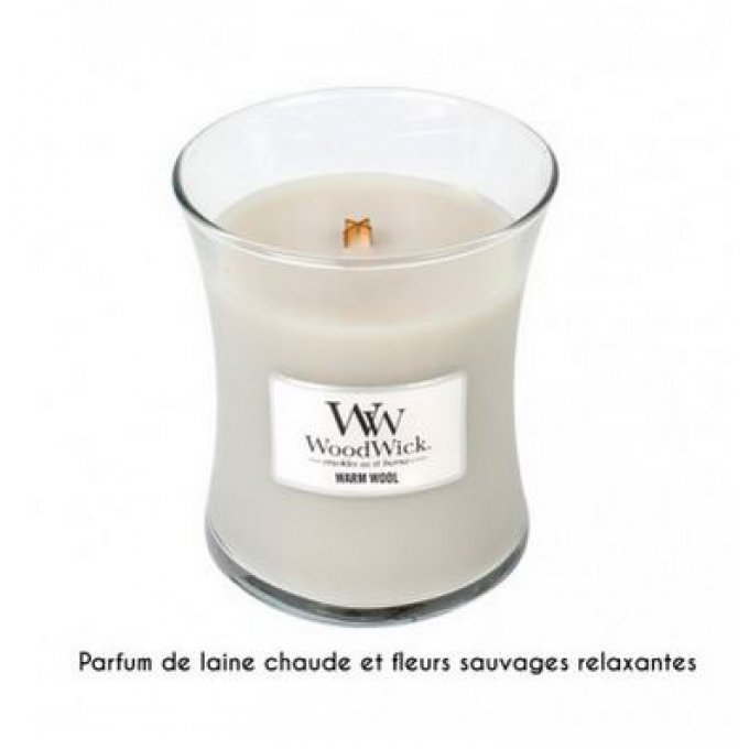 Bougie Warm Wool 60h